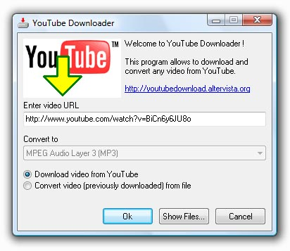 Youtube Downloader Download screenshot