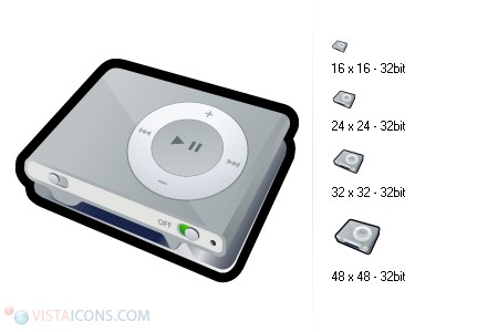 MP3 player icons