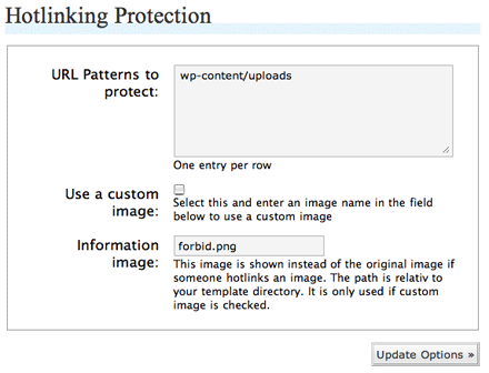 wordpress images hotlink protection pictures