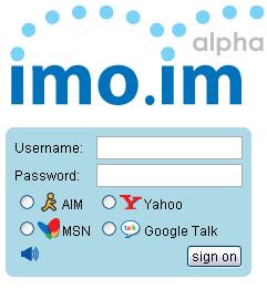 imoim - Web instant messenger
