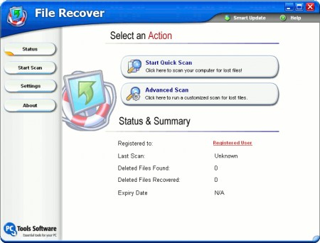 PC Tools File Recover Software