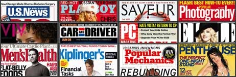 Read free online magazine using safari