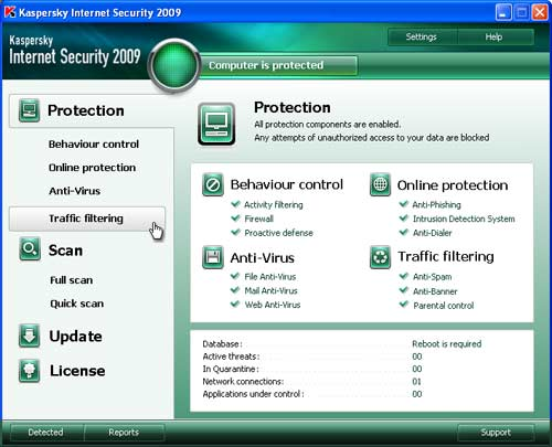 Free Kaspersky Internet Security 2009 license key download