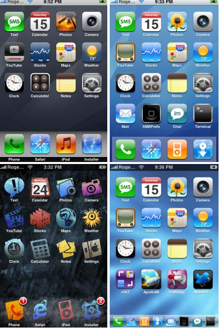 Free iPhone Theme from SummerBoard