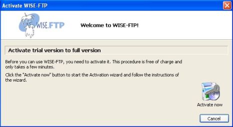 Request Wise FTP 3 genuine serial license key