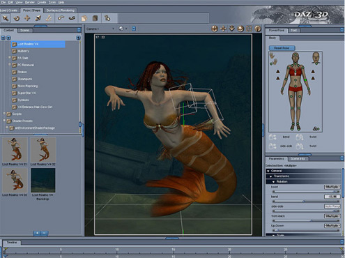 Daz Studio - Free 3D modeling and CAD Software