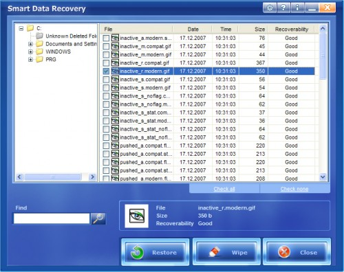 Smart data recovery enterprise - remote data recovery tools