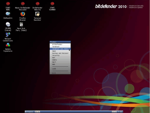 BitDefender USB Rescue Disk