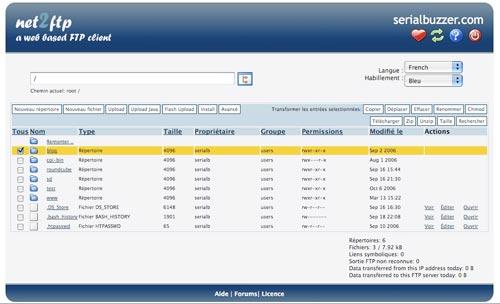 Net2FTP - Web FTP Client