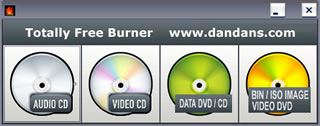 Totally Free Burner - Free Windows Burner Software download