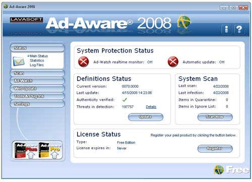 ad-aware free spyware removal download
