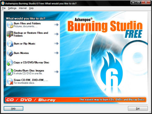 Download free Ashampoo Burning Studio