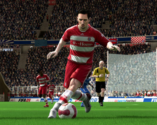 fifa 2009 demo download Ribery