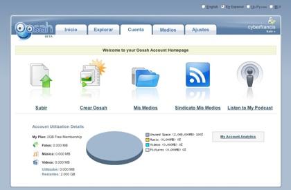 oosah free 1 terabytes online storage services login
