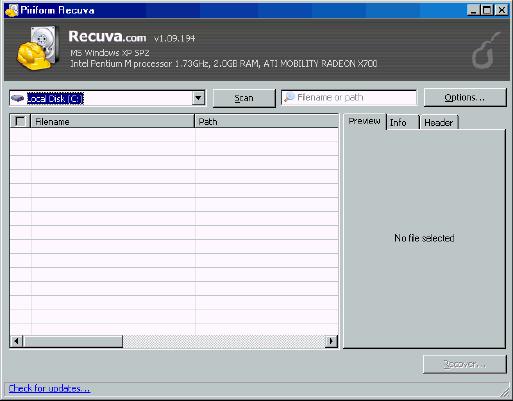 recuva free data recovery