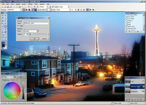Free Windows Photo Editor - Paint.net