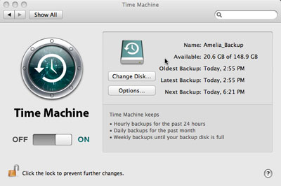 mac backup software time machine
