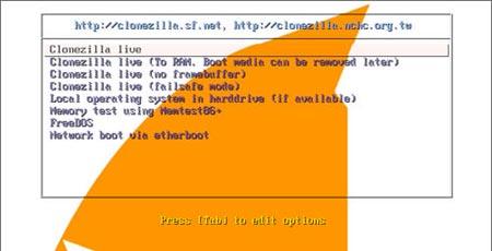 clonezilla - cross platform clone hard disk