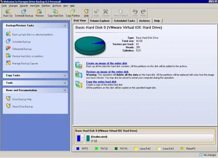 paragon drive backup express-windows clone hard disk software