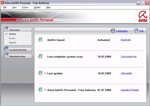 avira antivir 9 free edition download