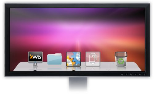 xwindows dock - free windows osx dock launcher