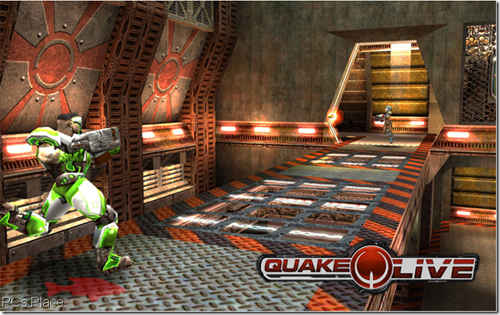 free quakelive online first person shooting game