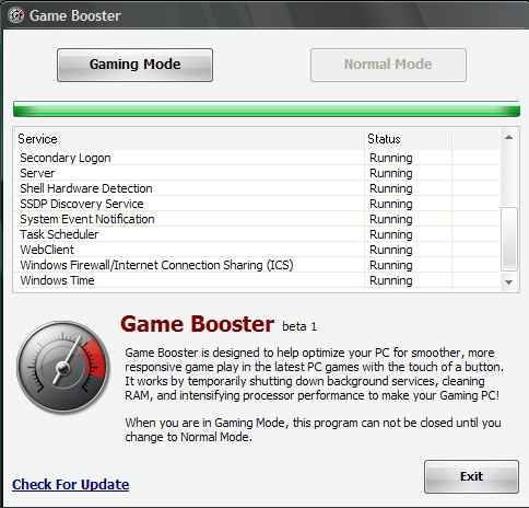 gamebooster boost gaming performance