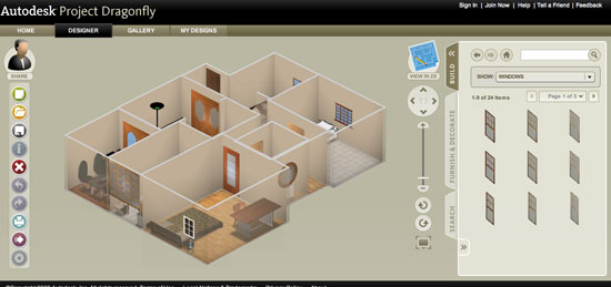 Autodesk dragonfly online home design software Software to make 3d house plan