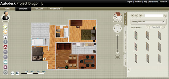 autodesk dragonfly - free online home design software