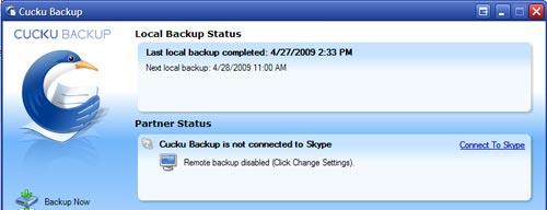 Cucku Backup - Free Online Remote Backup