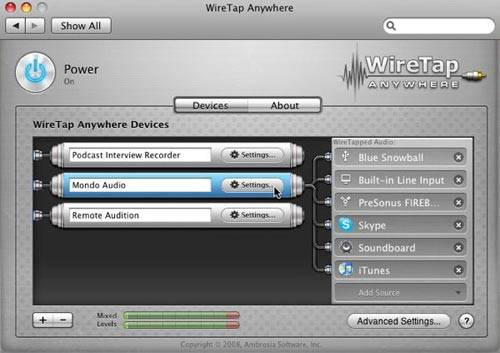 wiretap anywhere record any mac audio
