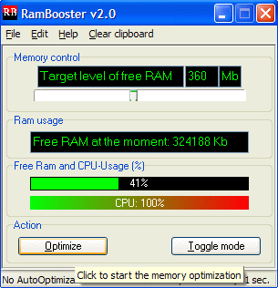 free ram booster
