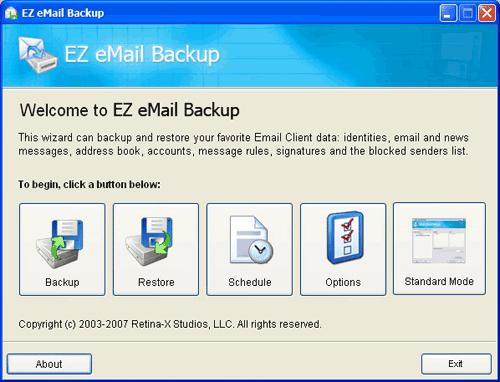 Ez Email Backup