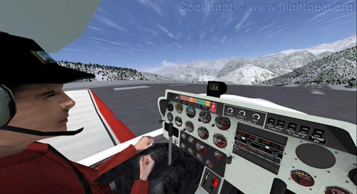 flightgear - free flight simulation game