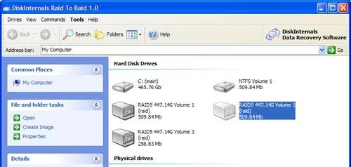 free raid 2 raid data recovery software