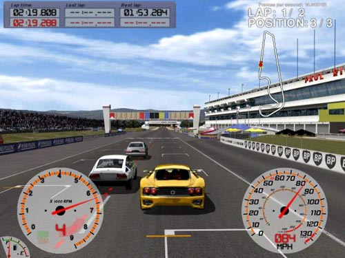 game car racing