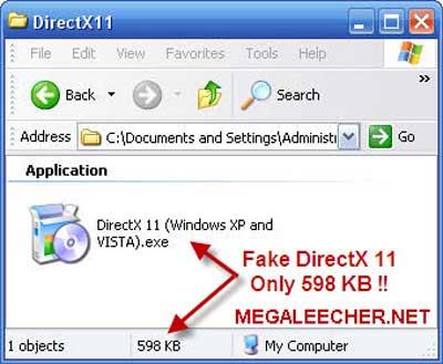 Directx 11 xp