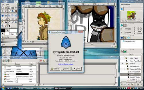 Free 2d vector animation software synfig Free 2d software