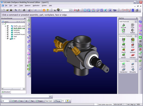 Free 3d cad modeling software cocreate modeling personal Free 3d cad software