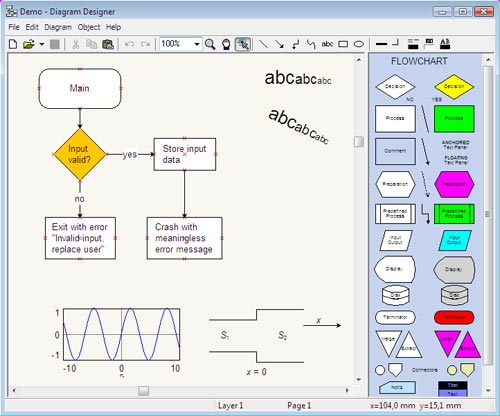 Diagram design free vector diagram editor software Online vector editor