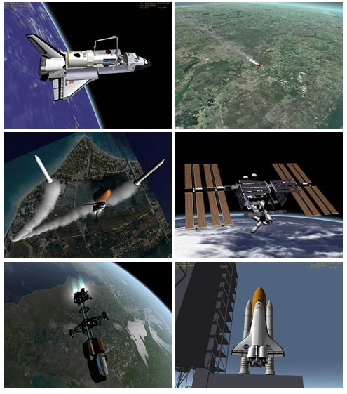Free Space Craft Flight Simulator PC Game - Orbiter
