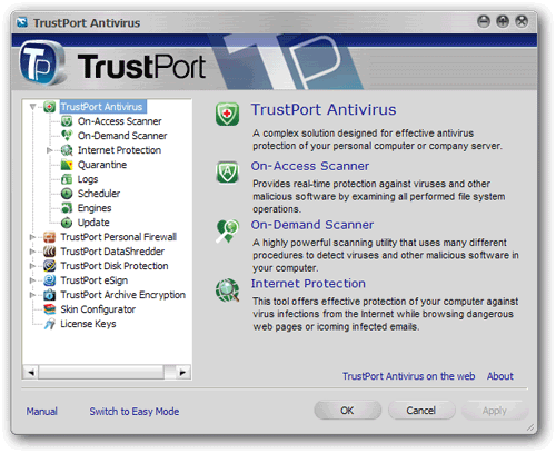 Free Trustport USB antivirus 2010 license