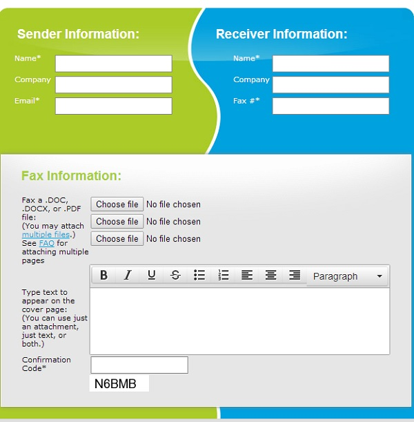 Faxzero - Send free fax