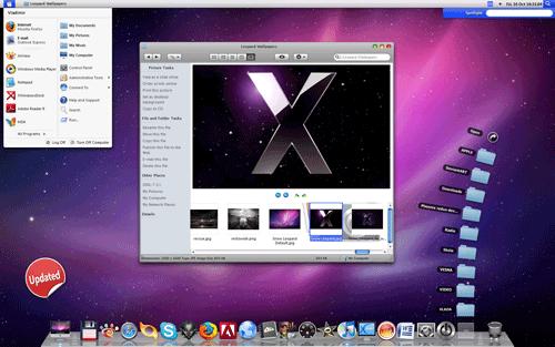 Biến XP-> MacOSX với Transform Windows XP to Mac OSX Leopard