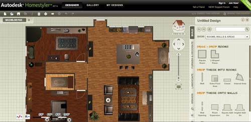 Free Online Autodesk Home Design Software - Autodesk Homestyler