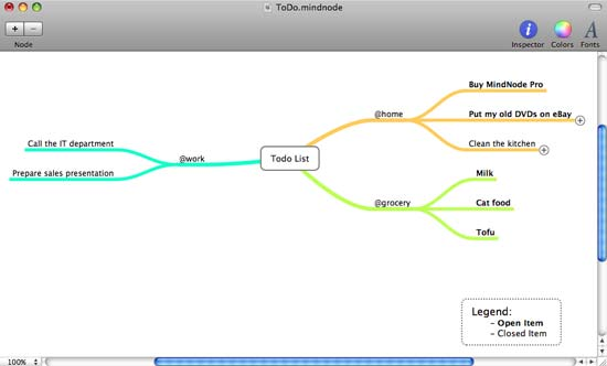 free mind map software  mac