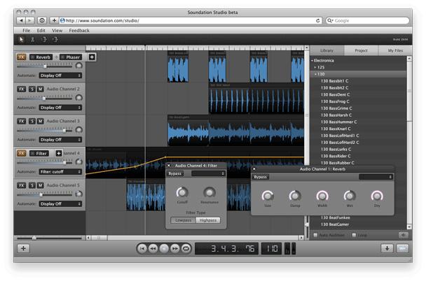 online music mixer soundation studio. Black Bedroom Furniture Sets. Home Design Ideas