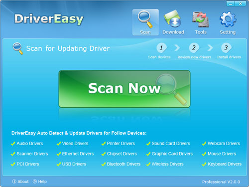 Driver Easy - Download latest hardware driver