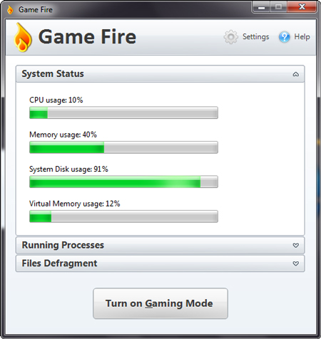 Game Fire Boost PC Game Performance