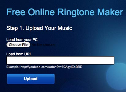 Cellsea - Simple Online Ringtone Maker